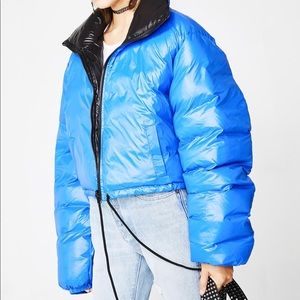 Current Mood/Dolls Kill Cropped Puffer Jacket